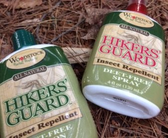 Woodstock Herbal Products Hikers' Guard Deet-Free Insect Repellent